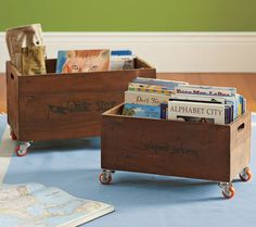 Great way to store the story books