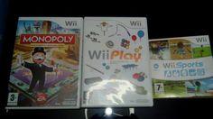 Consola Wii Mas Tres Juegos - Wii en Alicante, Rafal.