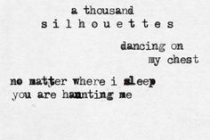 Silhouettes // Of Monsters and Men <3 <3 currently on repeat