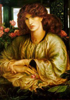 TheWomen'sWindow - Dante Gabriel Rossetti
