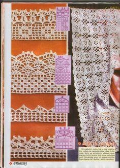 heklanje mustra #crochet edging  #Afs 4/5/13