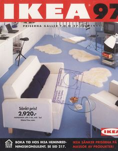 Ikea is celebrating it's anniversary of business in the UK. To celebrate, we're looking back at its catalogue covers from over the years