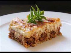 Pasta Noodles, Lasagna, Cooking Recipes, Ethnic Recipes, Food, Youtube, Macaroni, Lasagne, Chef Recipes