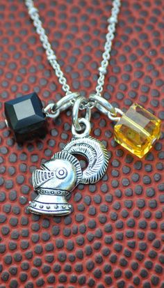 Knight Gameday Charm Necklace #UCF