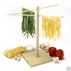 Norpro Pasta Drying Rack Great for Using With Kitchenaid Mixer Pasta Attachment #Norpro