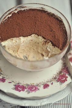 Prosty deser z macarpone Dessert Cake Recipes, Cute Desserts, No Bake Desserts, Vegan Desserts, Delicious Desserts, Yummy Food, Tasty, Polish Desserts, Flan Recipe