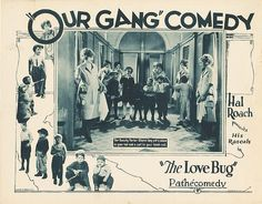 Lobby Card from the film The Love Bug