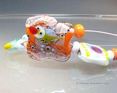 Little Lovelies  Lampwork Set of handmade by manuelawutschke