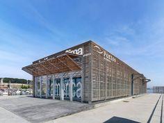 Estación Marítima del puerto de Baiona, Pontevedra, España - Santos y Mera Arquitectos - foto: Héctor Fernández Santos-Díez (BISimages)