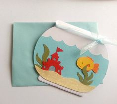 Under the sea  Invitation by EverydayCuts on Etsy, $3.75