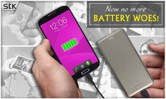 Never worry about running out of charge as now you can talk longer, listen to more songs, surf the internet, and watch more videos as you can revive your gadgets with #STK 12000mAh portable, pocket sized #Powerbank! #STKAccessories