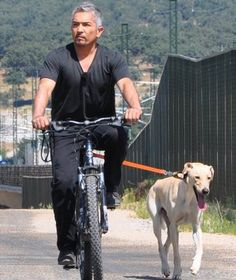 Cesar Millan/ great way to excercise for you and your pet at the same time!