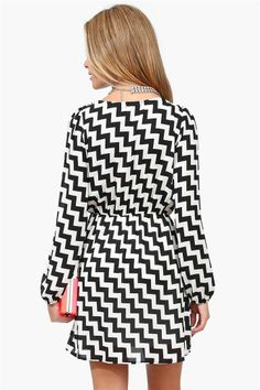 Chevron Dress.