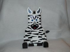 Zebras have always fascinated people on by CaroleCustomCreation
