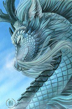 30 Inspiring Eastern Dragon Illustrations | The Design Inspiration