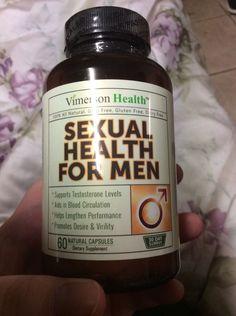 Vimerson Health: Sexual Health for Men Supplement - Increase Stamina & Desire #VimersonHealth