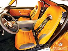 67 mustang fastback, butterscotch and grey interior, custom dash console, door panels... orange brown tan, billet trim