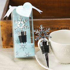 Creative Snowflake Shape Bottle Stoppers (052016111) - JJsHouse