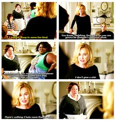 American Horror Story - Coven I like how she said she voted for Pres. Obama....twice