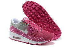 Nike Air Max 90 EM Women Pink White Running Shoes