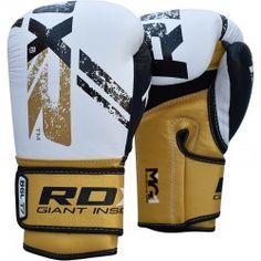RDX Leather Gel Training Boxing Gloves