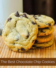 The only Chocolate chip cookies I make! The Best Chocolate Chip Cookies - Rock Recipes -The Best Food & Photos from my St. (made them, very good, just make sure not to over bake) Soft Cookie Recipe, Best Chocolate Chip Cookies Recipe, Cookie Recipes, Chocolate Cookies, Just Desserts, Delicious Desserts, Yummy Food, Biscuits, Rock Recipes