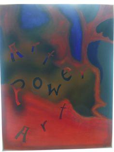 ArtPowerArt, Acryl auf Leinwand, BxH 58x75 cm