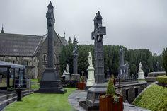 Celtic cross, Grave yard at Glasnevin cemetery