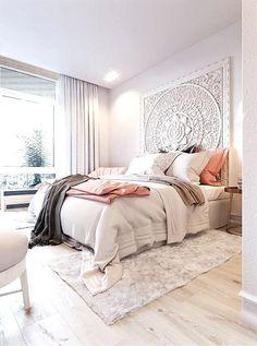Converting simple rooms to modern bohemian bedroom styles - TerminARTors