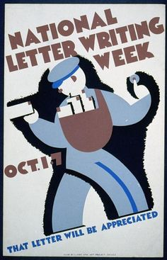 National letter writing week, Oct. 1-7 (LOC) by The Library of Congress, via Flickr