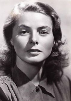Portraits of Ingrid: Foto Swedish Actresses, Classic Actresses, Beautiful Actresses, Roberto Rossellini, Isabella Rossellini, Hollywood Star, Golden Age Of Hollywood, Victor Fleming, Claude Rains