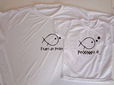 Kit de camiseta  Filho de peixe...