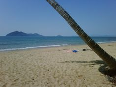 Mission Beach, Far North Queensland. Looking across to Dunk Island. Picture perfect!