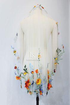 Fingertip Veil, Mantilla Veil, Dusty Pink, Blush Pink, Got Married, Getting Married, Flower Veil, Lace Embroidery, Wedding Veil