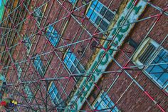 Historic Scaffolding by Rodney Hickey Design Studio, via Flickr