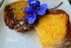 Bábovka z dýně Hokkaido | NejRecept.cz Sweet Cakes, Cornbread, Food And Drink, Pudding, Sugar, Treats, Baking, Breakfast, Ethnic Recipes