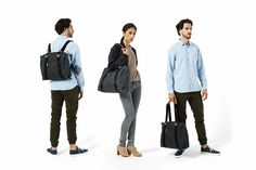 QWSTION - SIMPLE ZIPTOTE - WASHED BLACK - We've always liked simple holdalls, but also the comfort of a backpack when carrying some weight. Our new Simple Ziptote offers both. With a volume suited for daily use, an outside and some inside pockets and our Simple-Strap-System®, you get lots of versatility with classic style. Christmas Wood, Wash Bags, Classic Style, High Fashion, Organic Cotton, Street Wear, Backpack, Objects, Pockets