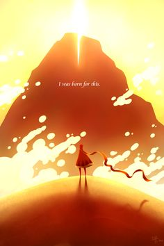 Journey by =KuroiNekoSan on deviantART. Have you played JOURNEY on PS3 yet?