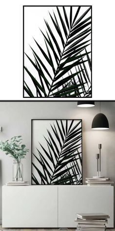 palm Branch - Botanical Wall art Poster | Botanical Poster | Botanical Wall Art | Wall Art Decor | Printable Wall Art  | Wall Art Prints