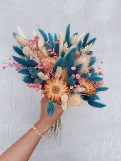 Dried Flowers Bouquet Wedding Ceremony Music Ideas First Night Gift Fo – orangetal Dried Flower Bouquet, Dried Flowers, Boquette Flowers, Indoor Flowers, Flower Bouquets, Diy Flower, Blooming Flowers, Colorful Flowers, Spring Flowers