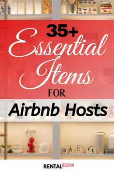 Airbnb Essentials Include: 75 Items For Hosts Airbnb House Rules, Shower Soap Dispenser, Airbnb Host, Air B And B, Room Essentials, Food Storage Containers, Elegant Homes, Rental Property, Washing Clothes