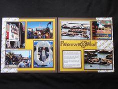 San Francisco - Fisherman's Wharf - Both - Scrapbook.com