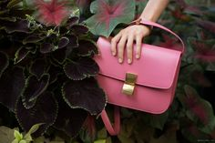 pink shoulder #bag :: #Celine