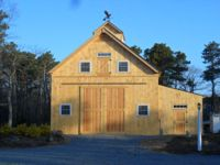 Geobarns, barn builder, specializes in artistic barns, using a modified post and beam structure to achieve a combination of strength, versatility and beauty at reasonable prices. Barn Builders, Beam Structure, Post And Beam, Modern Barn, Massachusetts, Shed, Outdoor Structures, Cabin, Elegant