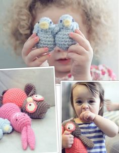DIY Crochet Toys For Small Kids | Kidsomania