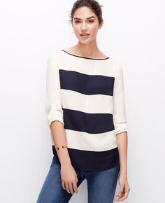 Bold Stripes.