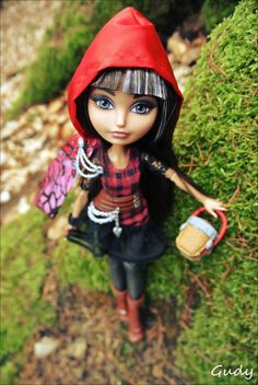 Cerise Hood doll photography