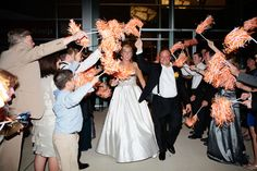 instead of rose petals we can wave clemson pom poms in your face ;)