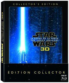 Star Wars : Le Réveil de la Force (2015) - Blu-ray 3D Édition Collector Blu-ray