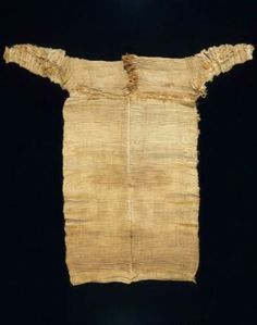 Pleated Dress, Egyptian, Old Kingdom, Dynasty 6, 2323–2150 B.C.E.; Linen